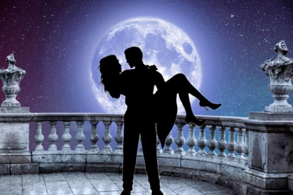 #freetoedit #couple #lune #amour