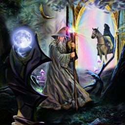 freetoedit fantasyart fantasy makebelieve imagination srcfullmoon