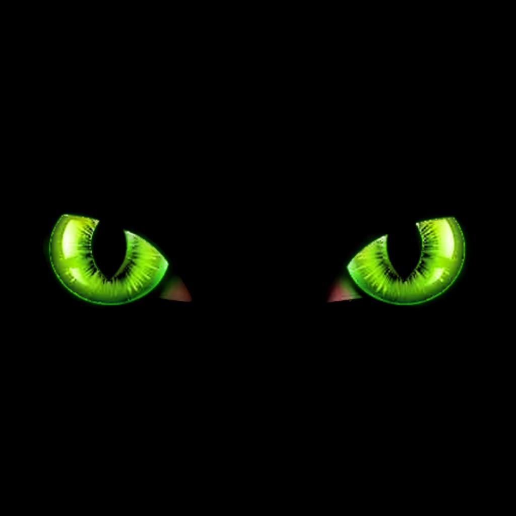 #freetoedit #green #cat eyes