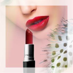 freetoedit glamour lipstick red