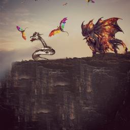 freetoedit dragon photo edit pic ecgiantanimals