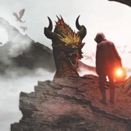 freetoedit dragon mythical myedit creative