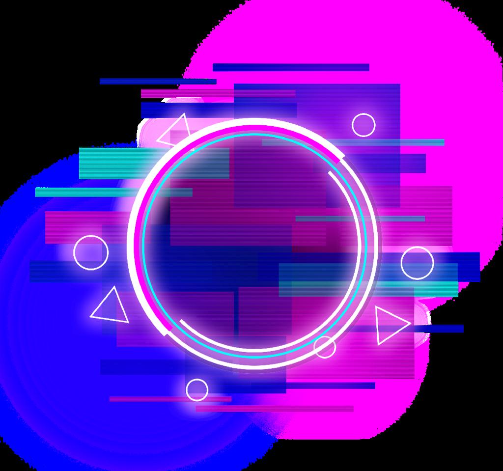#circle #round #triangle #glitch #border #neon #error #geometric #frame #overlay #layers #glitter #colorful#Striped #lighting #kpop #fashion
