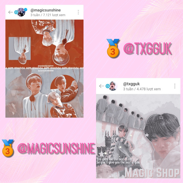 "@magicsunshine , red makes your edits stand out and beautiful. It's amazing. And the text in the middle makes it more harmonious💓💕💗💞💛😍  @txgguk , your edit are really cute! I love the way you arrange your sticker and add the star gif. SO CUTE !!!🤩💘💓❤️❣️💖  Thank you sooooo muchhhh for joining my contest!!! 🧡💚💜💜😊💕 Please comment the request you want and review it in the ""prizes"" section 💜 #bts #btsedit #btsarmy #btsv #btssuga #btsjimin #btsjungkook #btsjhope #btsjin #btsrm"