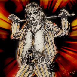 alicecooper rockstar rockandroll alice concert freetoedit
