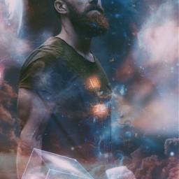 freetoedit galaxy space magic art ircintonature