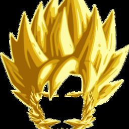 dragonballz beard gold freetoedit scbeard