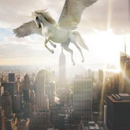 freetoedit unicorn ecgiantanimals giantanimals