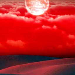 freetoedit background bloodmoon remixme