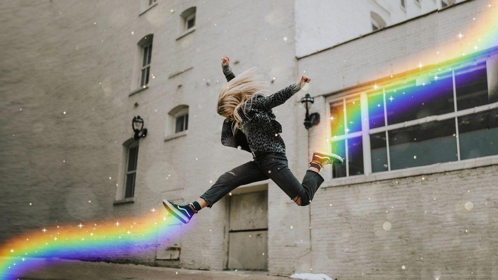 #rainbowbrush #girl #sparkle #brush #picsartedits