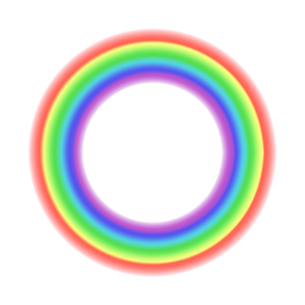 #freetoedit #rainbow #transparent #circle #frame