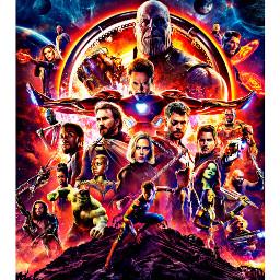 avengers avengersinfinitywar marvelstudios thanos ironman scarlettjohansson scarletwitch freetoedit