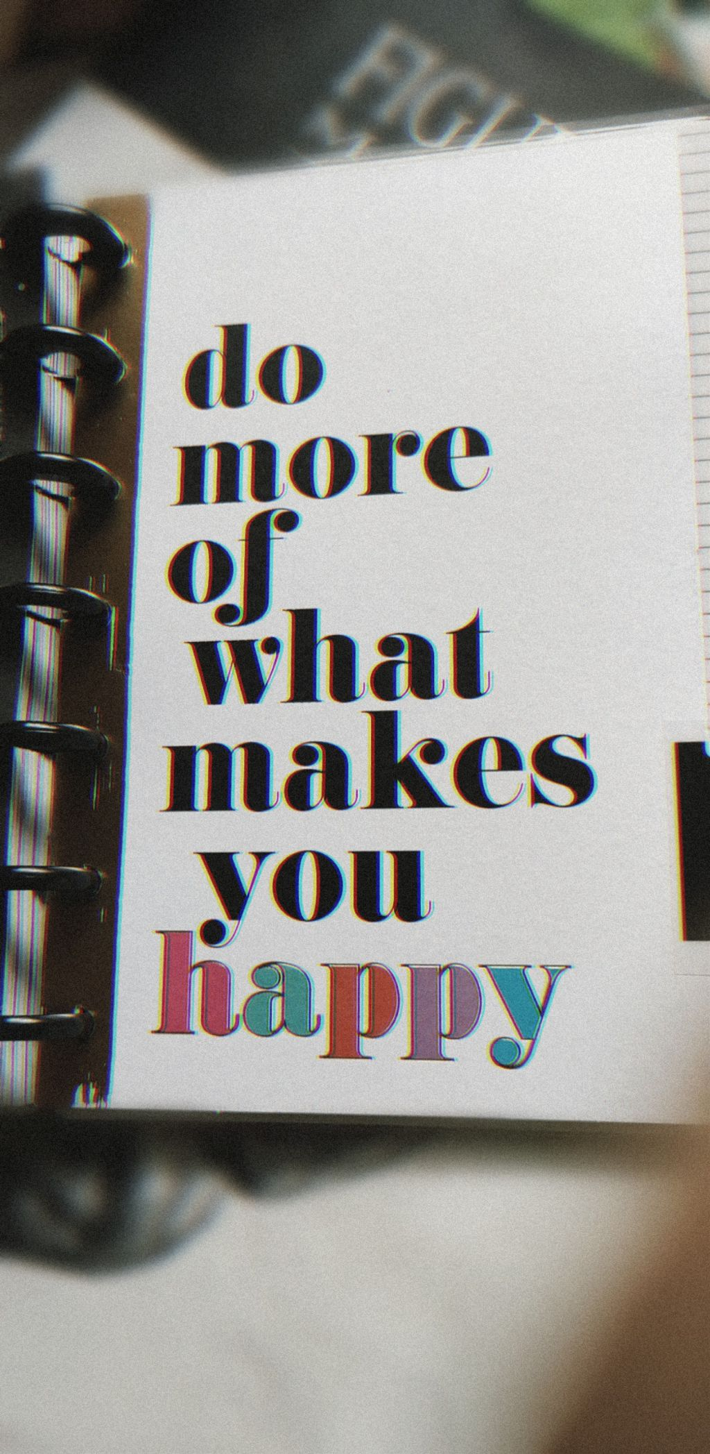 💕✨💕  But there is a difference in doing and being too.... make sure that you be internally happy... Don't always find external sources or things to make you happy 💕✨✨   #thought#rant#cover#diary#glitch#aesthetic #amazing #mornings #quoteoftheday #inspire #motivation