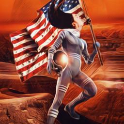 freetoedit ircinmotion inmotion mars astronaut