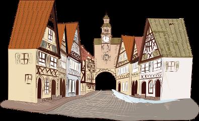 houses street village freetoedit
