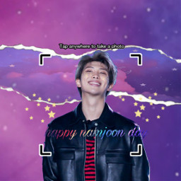 freetoedit bts happynamjoonday namjoon kim_namjoon