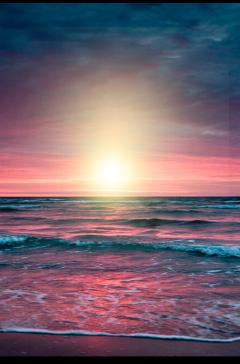 ftestickers landscape scenery beach sunset freetoedit