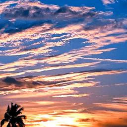freetoedit skylover clouds sunset naturephotography