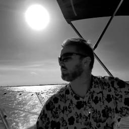 blackandwhite photography people boat