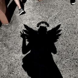 demonwings wingsofanangel darksoul shadow freetoedit
