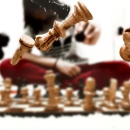 freetoedit photography chess blureffect illustration