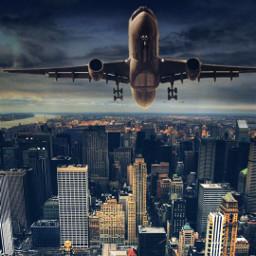 freetoedit edits city aeroplane