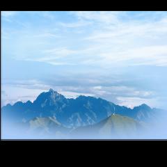 ftestickers nature landscape mountains cloudsandsky freetoedit