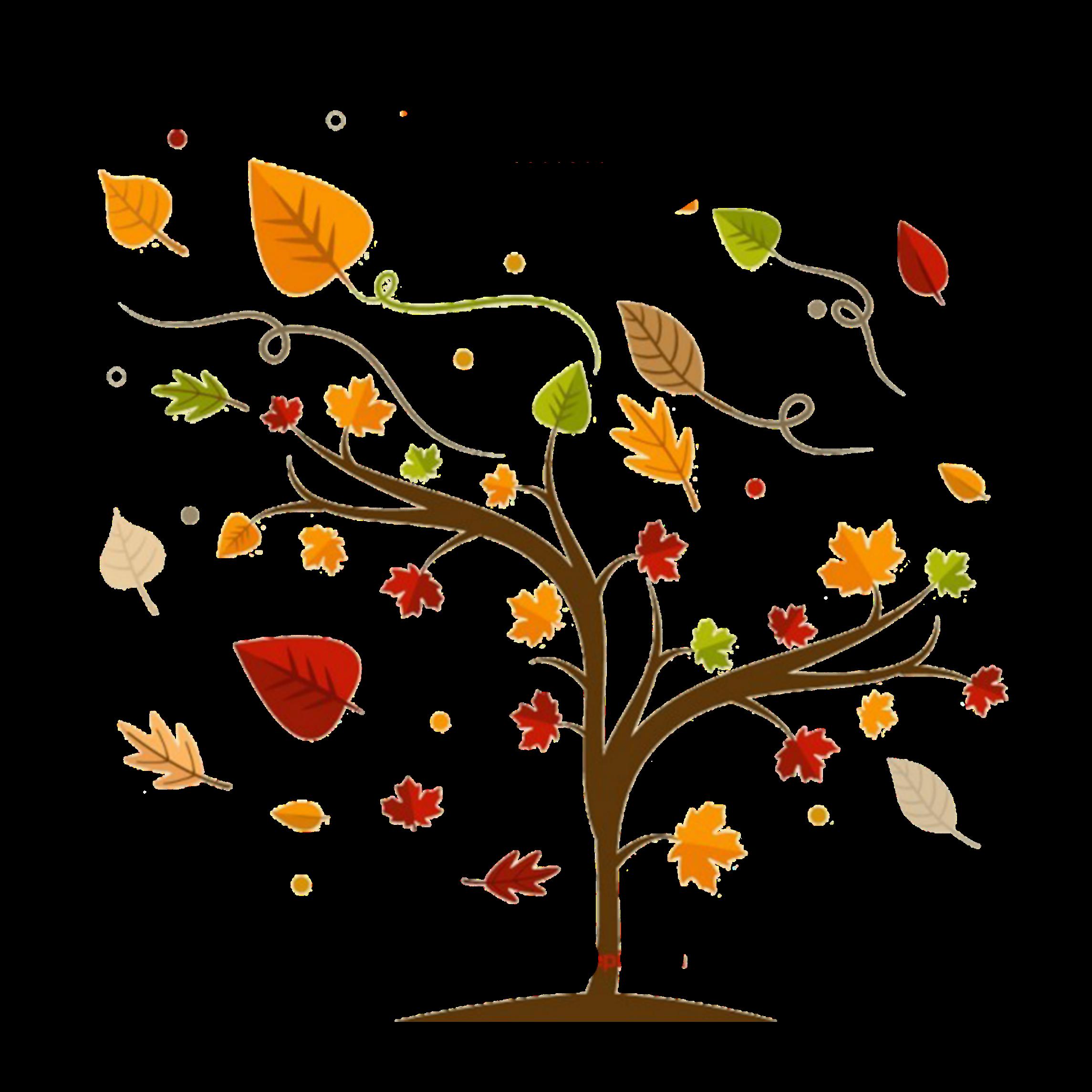 Картинка осень вектор