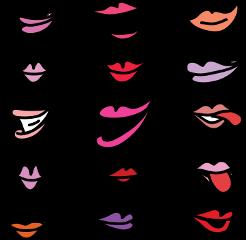 lips shapes easter sick bird scorpio freetoedit