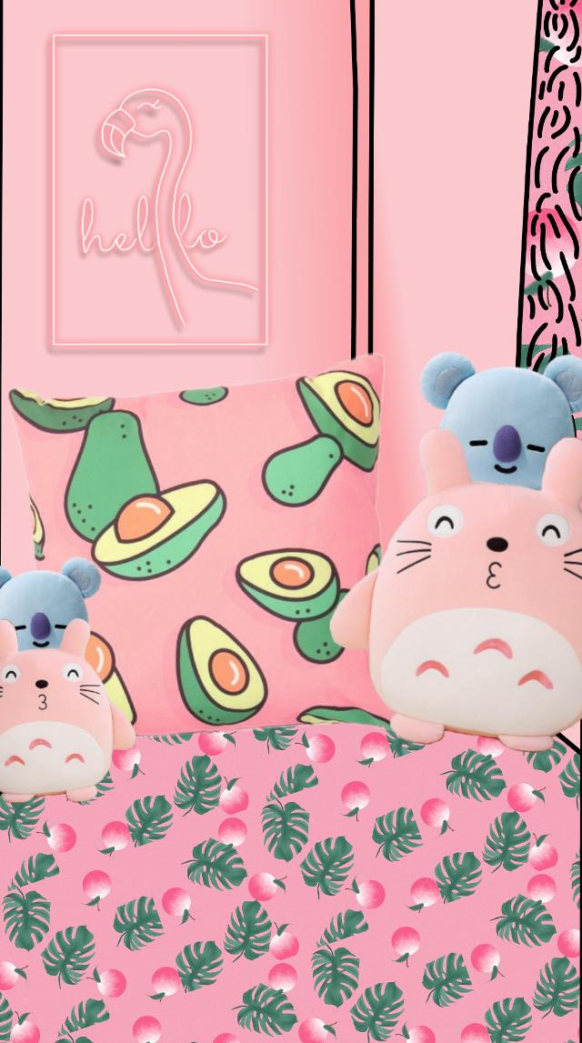 #Cute #art #room #pink #freetoedit