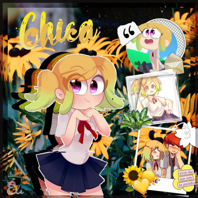 Otra vez/ Another Time. #fnafhs #fhs #fnafhschica #fnafhsedit #chica