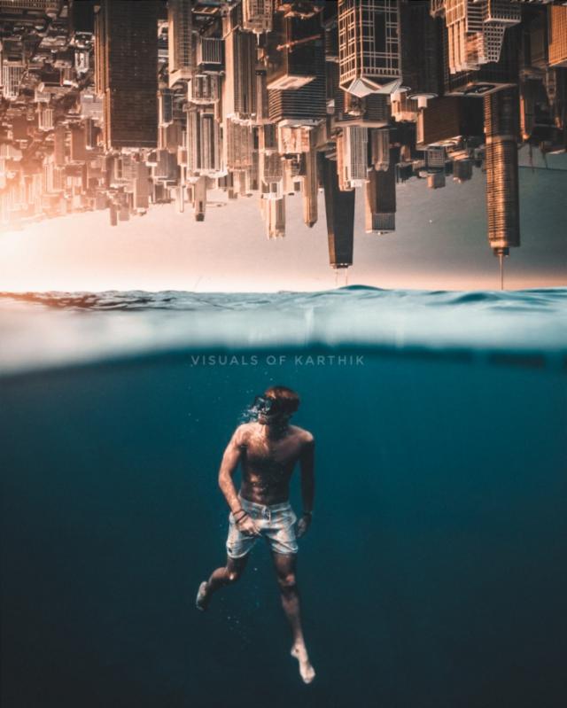 Deep Dive into your Imagination 🌊 #Madewithpicsart #madebyme #MyEdit #PicsArt   #Instagram 👉🏻 @imkarthik1997   #art #artist #Photo #photography #photooftheday #pic #picoftheday #fantasy #surreal #surrealism #surrealistic #travel #Daily #Men #male #Boy #photographer #tuesday #upsidedown