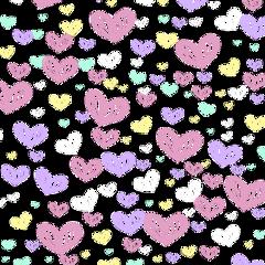 heart colors coração colorido amor freetoedit