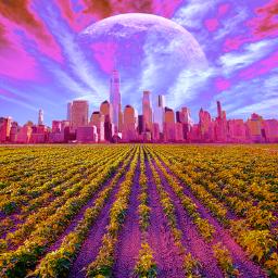 freetoedit colorful cityline landscape curvestool