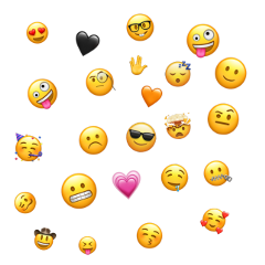 freetoedit emojibackground emoji picsart trend