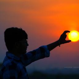 camcounter photography sunset creative picsart