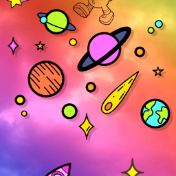 freetoedit space stars galaxy planets