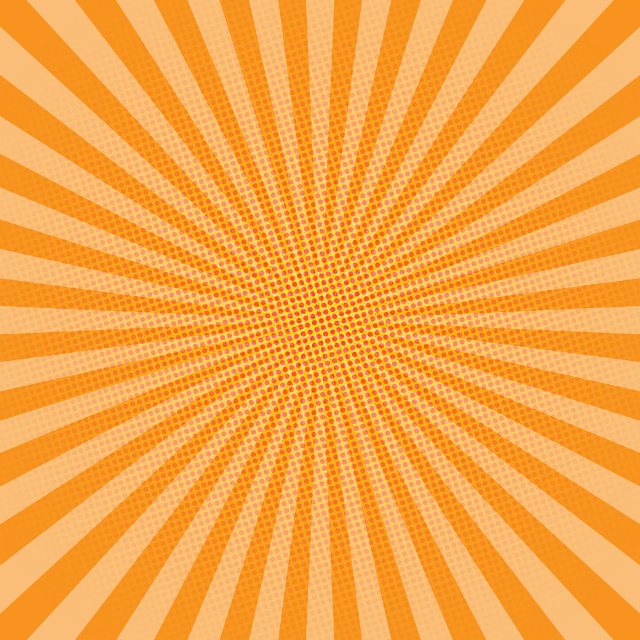 Orange Comic Background ¶ #orange #background #comic #stripes #dots #light #square #renee #high #quality #resolution #inkstardust #ink #star #dust #free #freetoedit