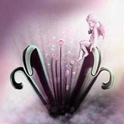 vipshoutout artisticedit flower stretchtool angel freetoedit