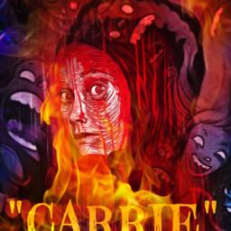 freetoedit carrie movieposter stephenking blood