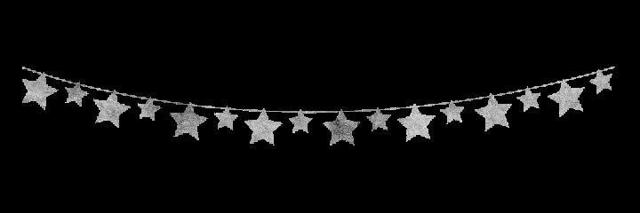banner pennant flag garland stars freetoedit