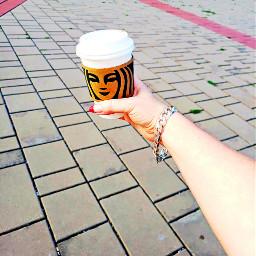 freetoedit coffeetime pumpkin starbucksaddict myhand