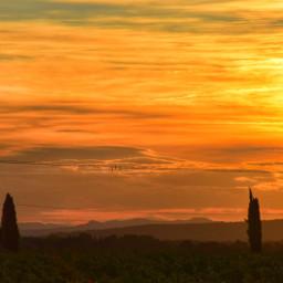 frenchlandscape sunset beautifulhdr freetoedit