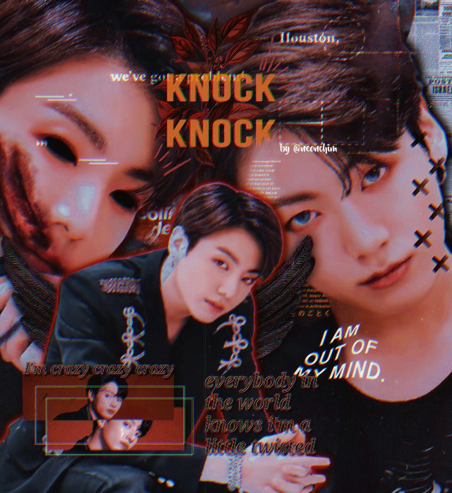 """""""Song on loop: twisted - missio"""" ••everybody in the world knows I'm a little twisted••haven't we all missed my old dark edits?  this is my entry for @ciki_- and @jeonary 's 1k contest!! hope you like my darkie jungkook🤧🤞❤. I would have made it into a gif but the quality's already ruined and I couldn't risk it that far:(.   ••I won't change my username since lots of you voted for me to keep the one I'm using now but my watermark changed!! in the future hopefully that will be my username, neonchim.   psy?cho◇path jeon/^#ggu k au  #jungkook #jeonjungkook #btsjungkook #bts #kpop #cikiandjeonscontest"""
