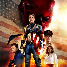 captainamerica captainamericathefirstavenger avenger steverogers chrisevans freetoedit
