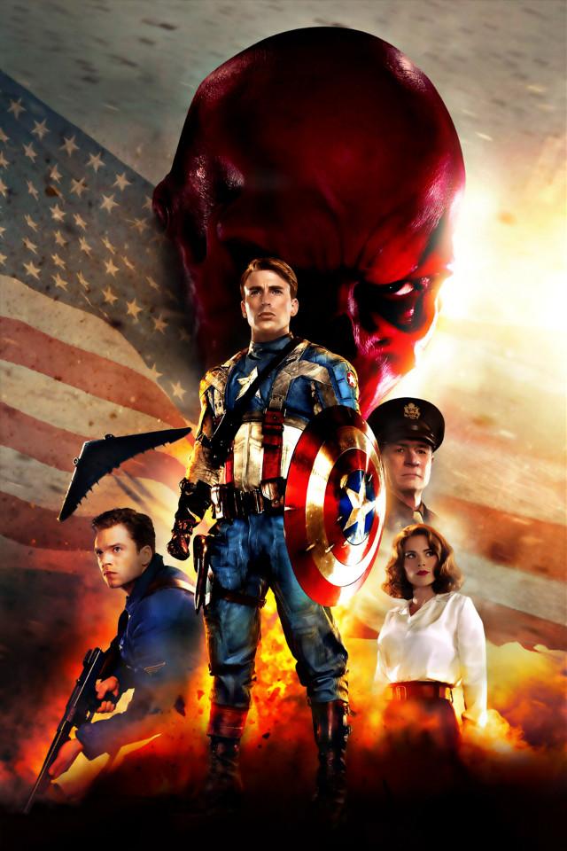Captain America The First Avenger  Poster No Text  #CaptainAmerica #CaptainAmericaThefirstAvenger #Avenger #Steverogers #Chrisevans #redskull #USA #peggycarter #hayleyatwell #Buckybarnes #SebastianStan #Marvel #MarvelStudios #Marvelcomics #HDR #Poster #NoText #freetoedit