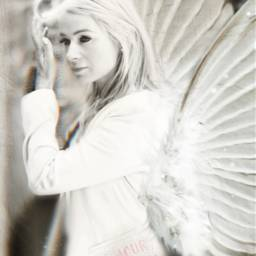 freetoedit angel hope faith white