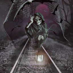 freetoedit editbyme skull darkness darkart