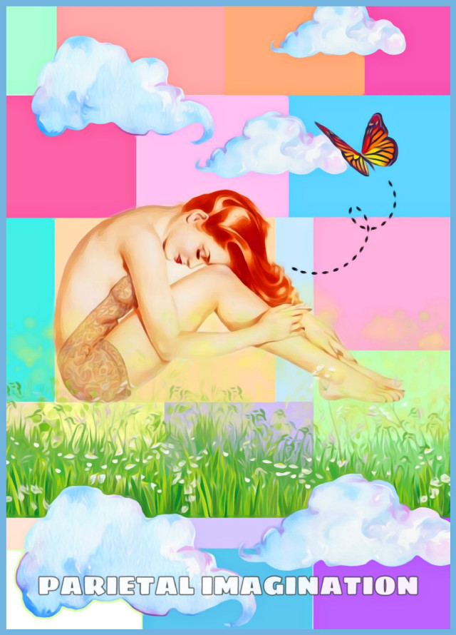 Edit by: Parietal Imagination Art  @pa #pop #pinup #flowers #clouds #butterfly #freetoedit #artistic #girl #magicfx #vip #madewithpicsart #parietalimagination  💗💗💗💗💗