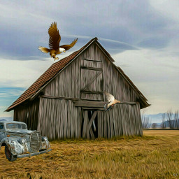 freetoedit countryscene interesting oilpaintingeffect artisticeffects